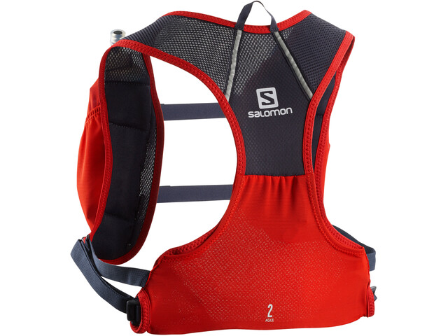 Salomon Agile 2 Vest Set Fiery Red/Graphite
